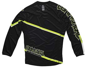 MAILLOT MANCHES LONGUES DH JAUNE 2015