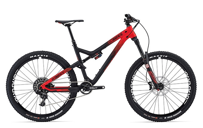 META AM V4 RACE 650B ROCKSHOX RED