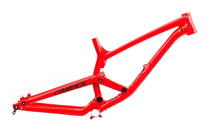 CADRE FURIOUS 650B RED TEAM  2018