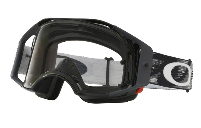 MASQUE OAKLEY AIRBRAKE MX JET NOIR SPEED CLEAR LENS