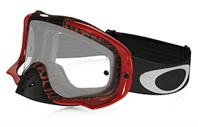 MASQUE OAKLEY CROWBAR DISTRESS TAGLINE ROUGE/PURPLE CLEAR LENS