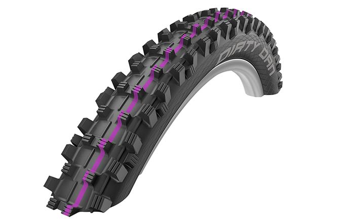 SCHWALBE DIRTY DAN 27.5 X 2.35 DH ADDIX ULTRA SOFT