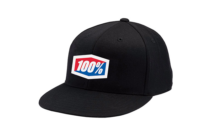 CASQUETTE 100% ESSENTIAL BLACK