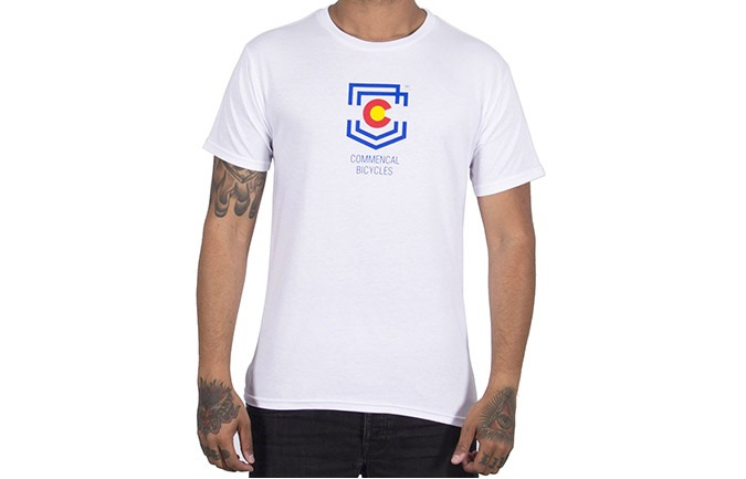 T-SHIRT COMMENCAL SHIELD COLORADO