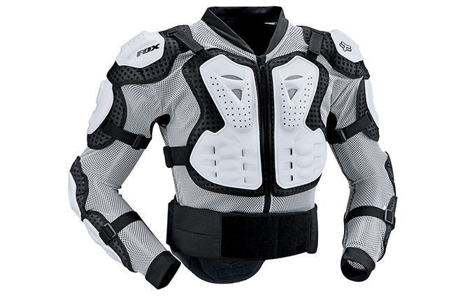 GILET DE PROTECTION FOX TITAN SPORT WHITE