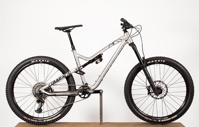 META AM V4.2 RACE EAGLE 650B BRUSHED 2017 (M)