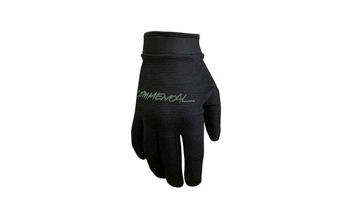 GANTS KID COMMENCAL BLACK VELCRO