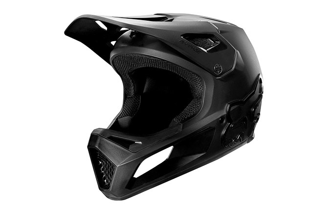 CASQUE FOX RAMPAGE BLACK/BLACK 2020