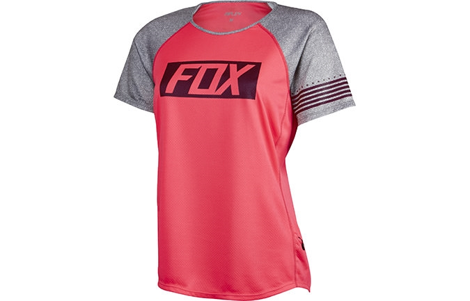 MAILLOT MANCHES COURTES FEMME FOX HEAD RIPLEY ROSE 2016