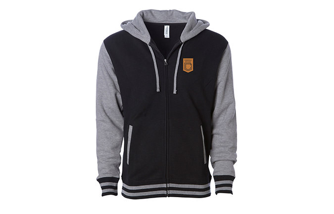 ZIPPER BLACK / GREY