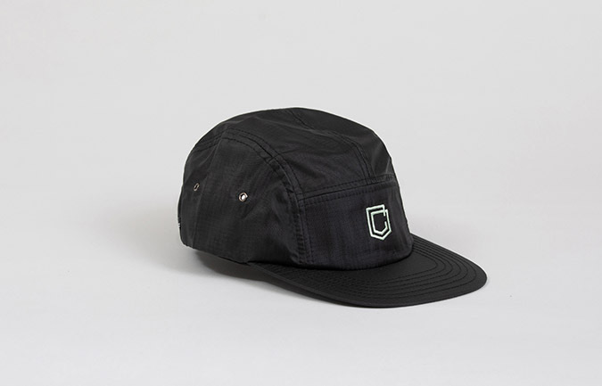 CASQUETTE COMMENCAL 5 PANEL RIPSTOP BLACK