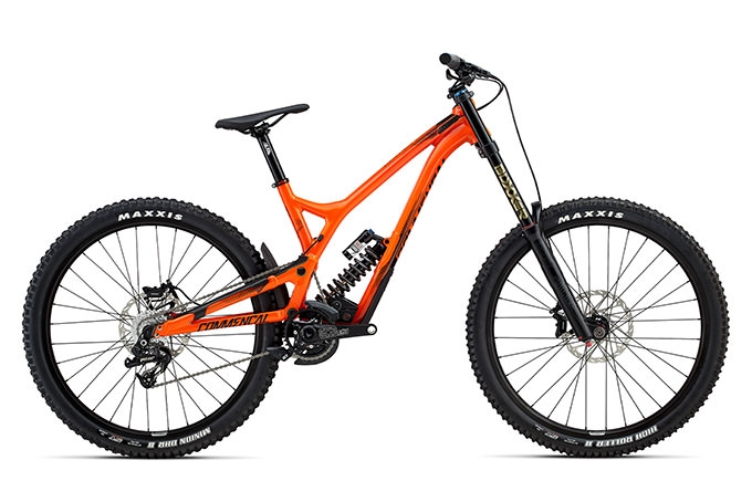 SUPREME DH V4.2 ESSENTIAL 650B ORANGE 2017