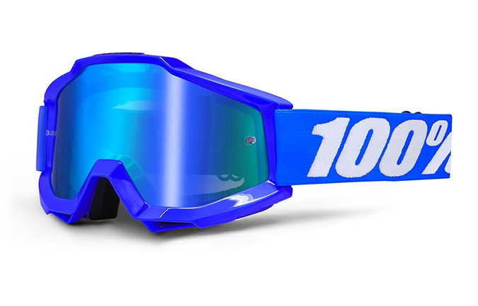 MASQUE 100% ACCURI REFLEX BLUE MIRROR BLUE LENS