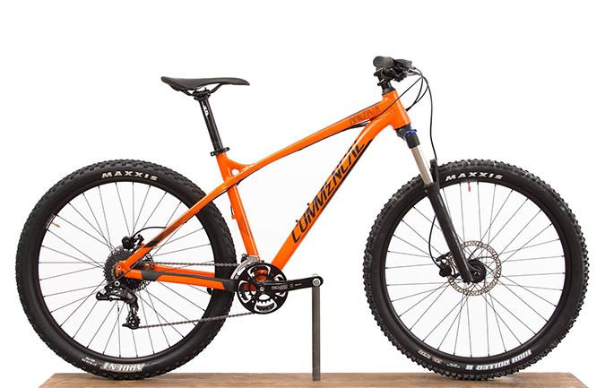 META HT TRAIL RIDE 650B ORANGE 2017 (M)