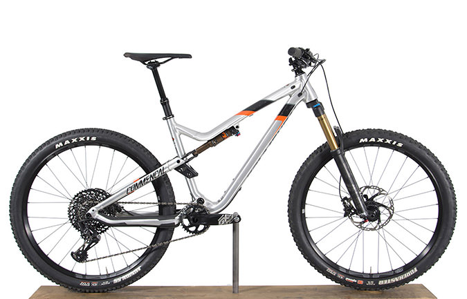 META TRAIL V4.2 RACE 650B BRUSHED/ BLACK/ORANGE 2018 (M)