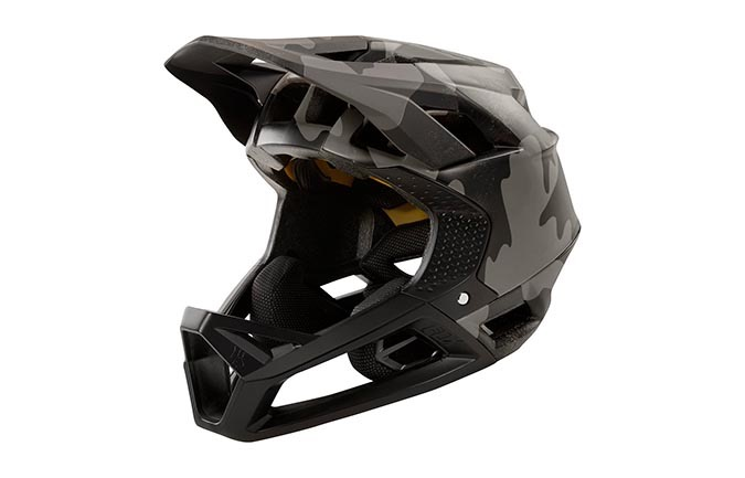 CASQUE FOX PROFRAME BLACK CAMO 2019