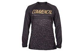 MAILLOT MANCHES LONGUES COMMENCAL BLACK/GOLD 2019