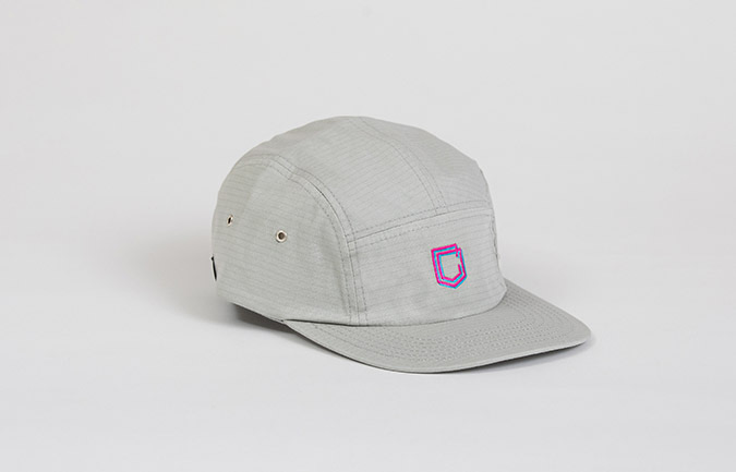 CASQUETTE COMMENCAL 5 PANEL RIPSTOP GREY