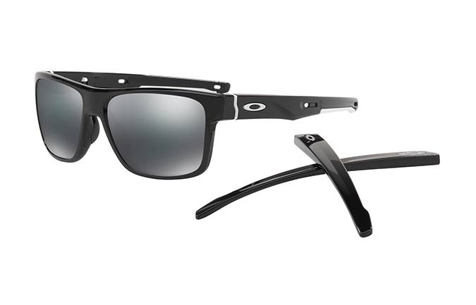 LUNETTES OAKLEY CROSSRANGE POLISHED BLACK/BLACK IRIDIUM