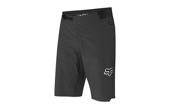 SHORT FOX FLEXAIR NO LINER BLACK 2019