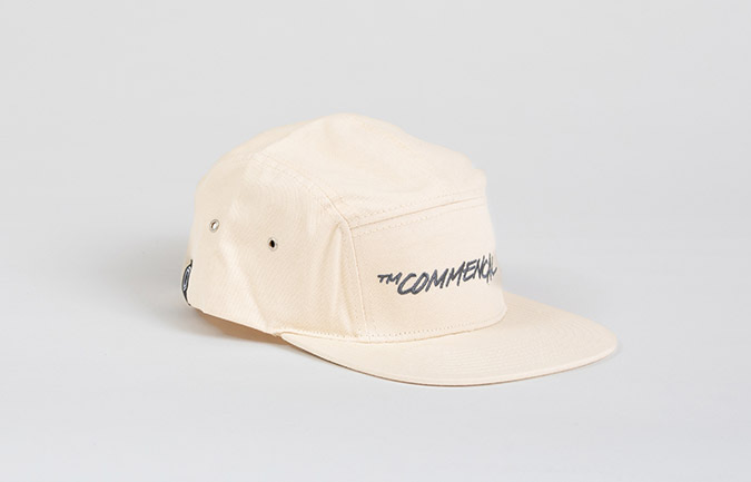 CASQUETTE COMMENCAL FIVE PANELS OFF-WHITE