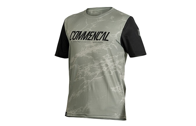 MAILLOT MANCHES COURTES COMMENCAL HERITAGE GREEN 2020