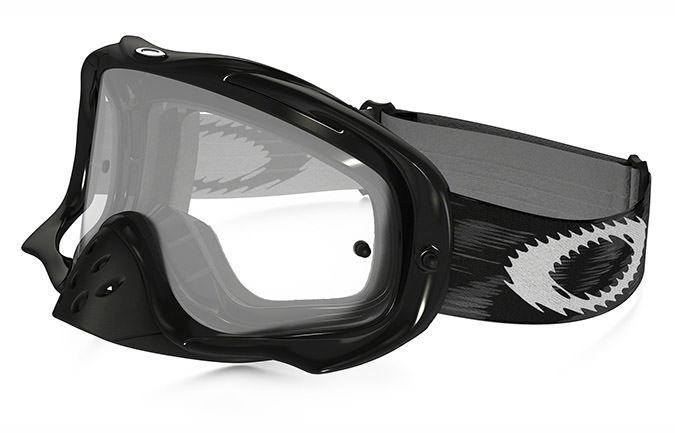 MASQUE OAKLEY CROWBAR MX JET NOIR SPEED CLEAR LENS