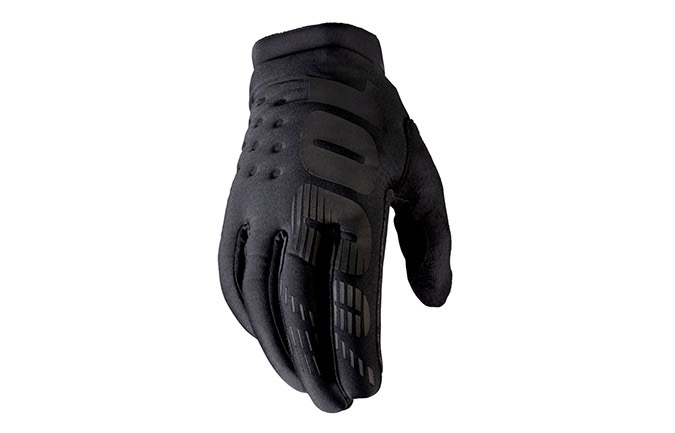 GANTS 100% KIDS BRISKER BLACK/GREY