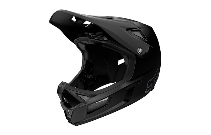 CASQUE FOX RAMPAGE COMP MAT BLACK 2020