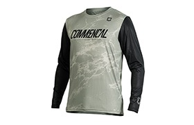 MAILLOT MANCHES LONGUES COMMENCAL HERITAGE GREEN