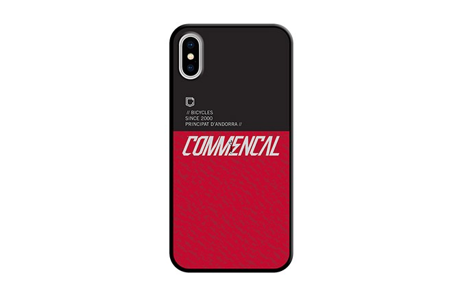 COQUE COMMENCAL IPHONE X-XS  RED 2019