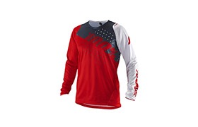 MAILLOT MANCHES LONGUES 100% KID R-CORE RED 2019