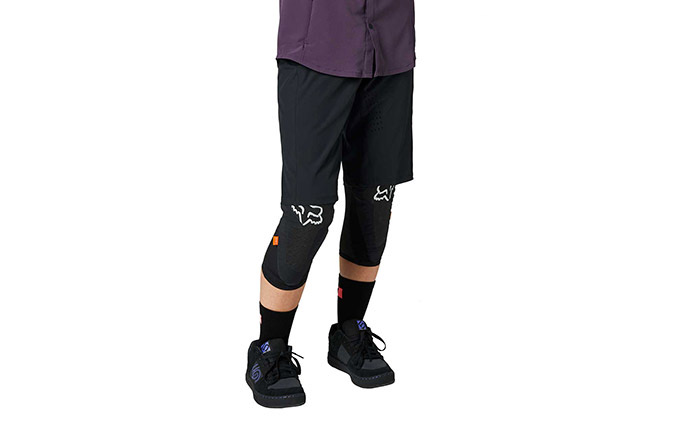 SHORT FOX WOMEN FLEXAIR LITE NO LINER BLACK