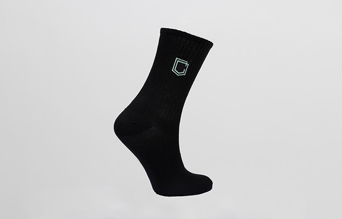 CHAUSSETTES COMMENCAL LIFESTYLE EPAISSES SHIELD GREEN HERITAGE