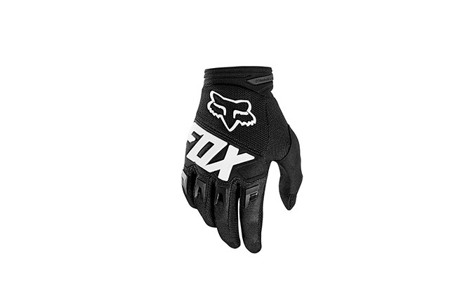 GANTS FOX YOUTH DIRTPAW BLACK