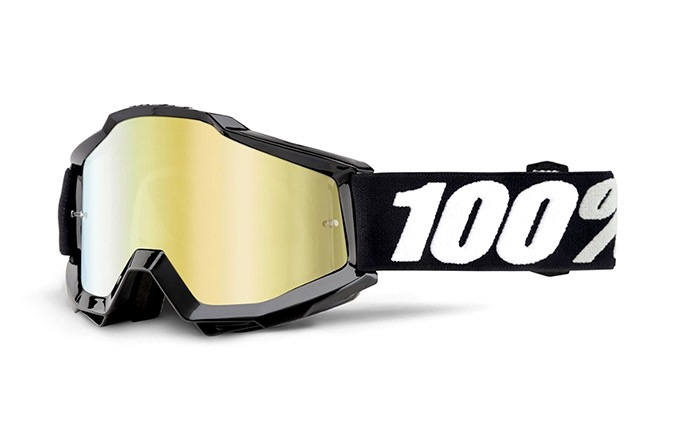 MASQUE 100% ACCURI TORNADO - MIRROR GOLD LENS
