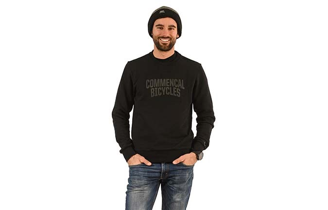 CREWNECK COMMENCAL BLACK 2020