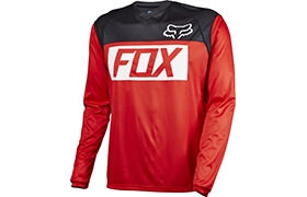 MAILLOT MANCHES LONGUES FOX HEAD INDICATOR ROUGE 2016