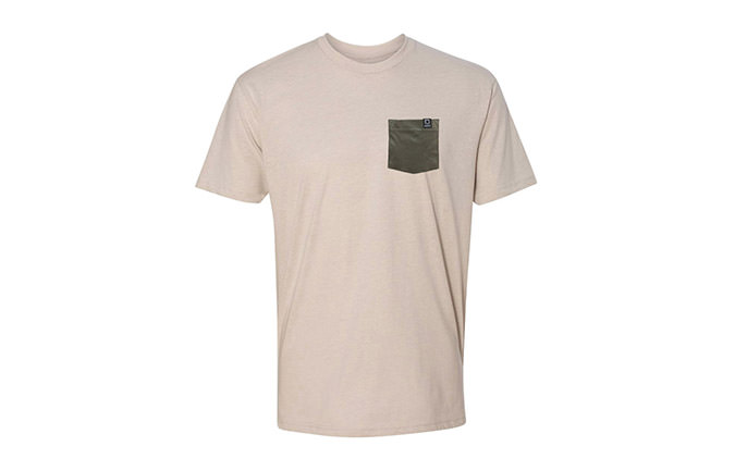 T-SHIRT BASIC SAND / GREEN 2018