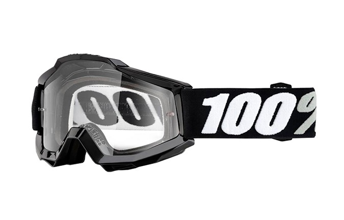 MASQUE 100% ACCURI TORNADO - CLEAR LENS