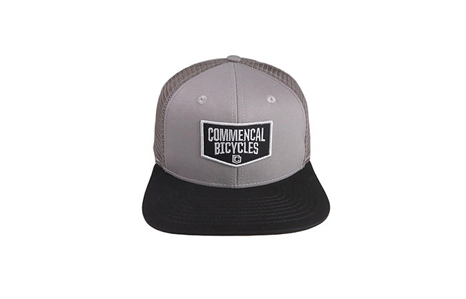 CASQUETTE KID COMMENCAL TRUCKER GREY