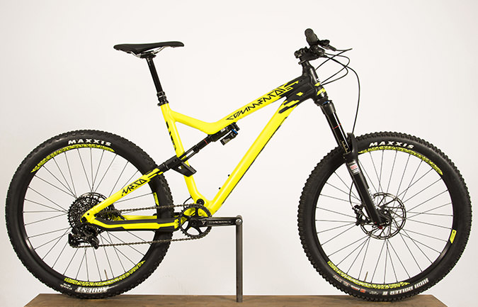 META AM V4 RACE 650B ROCKSHOX 1X LIMITED EDITION YELLOW 2015 (L)