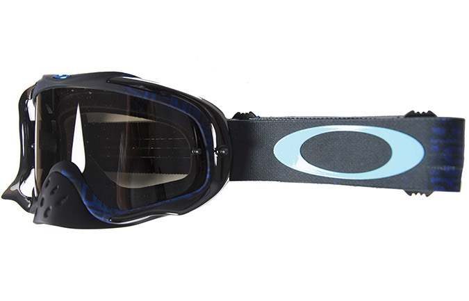 MASQUE OAKLEY CROWBAR DISTRESS TAGLINE STEALTH BLUE/DARK GREY