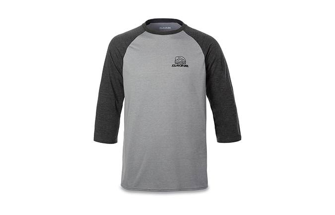 DAKINE WELL ROUNDED RAGLAN TECH T MANCHES 3/4 2018