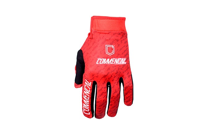 GANTS COMMENCAL ROUGES SCRATCH 2019