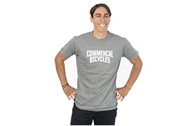 T-SHIRT COMMENCAL GREY 2020
