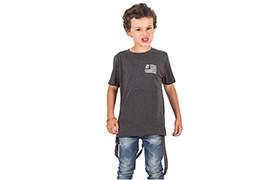 T-SHIRT EAGLE CHARCOAL KIDS