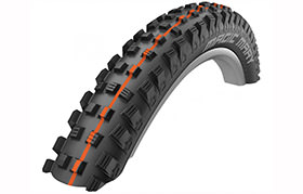 SCHWALBE MAGIC MARY 27.5 X 2.6 SNAKESKIN TL EASY APEX ADDIX SOFT