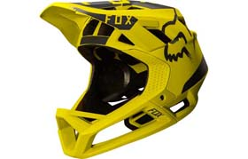 CASQUE FOX PROFRAME YELLOW