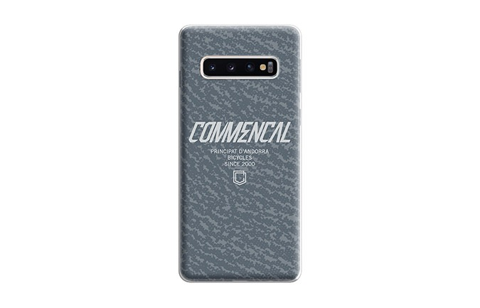 COQUE COMMENCAL  SAMSUNG GALAXY S10 GRISE 2019